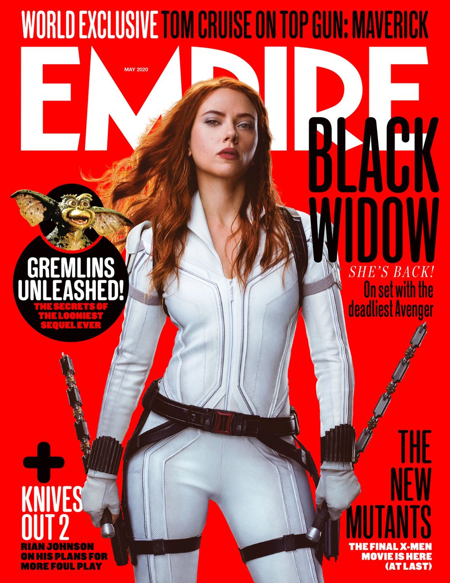 Check out the brand new @empiremagazine covers for Marvel Studios #BlackWidow!