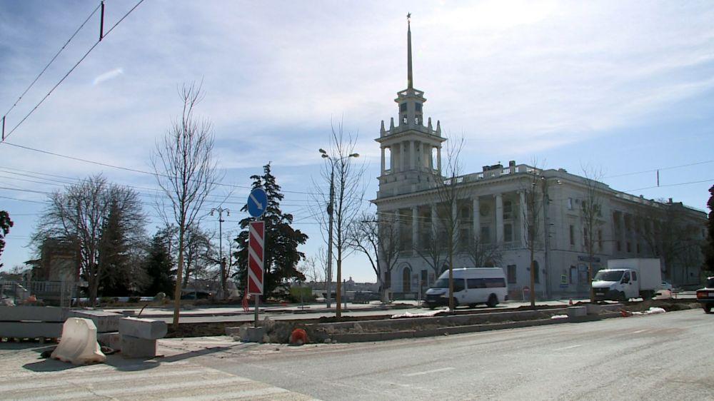 Как меняется центр Севастополя