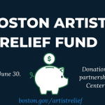 Image for the Tweet beginning: If you're a Boston-based artist
