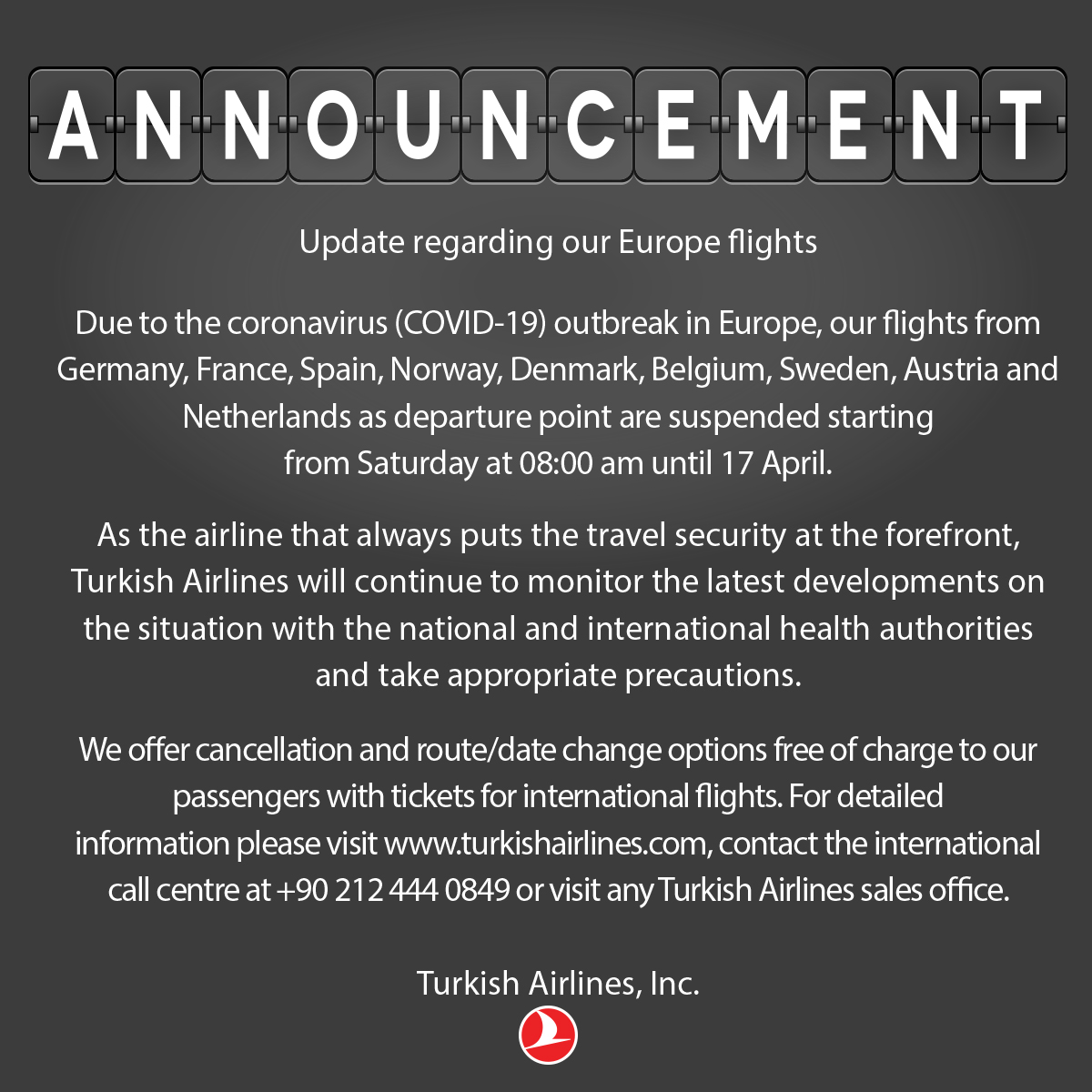 ℹ️  [Update]  Attention to all our passengers! https://t.co/lpGXVaLgOS