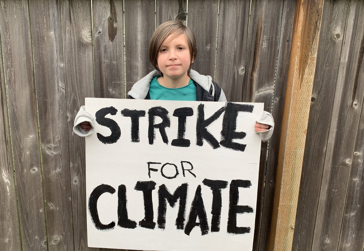 Join the #OnlineClimateStrike #ClimateStrike #FridaysforFuture #seattlecovid19