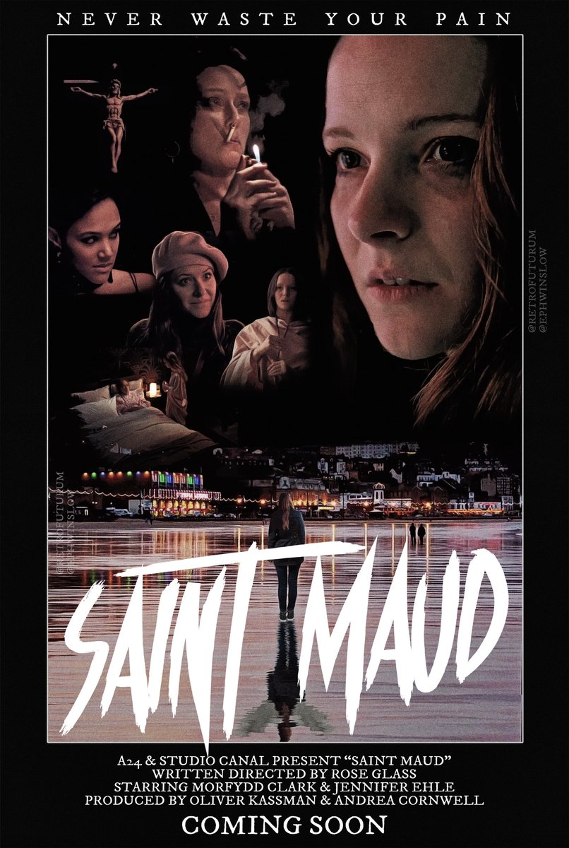 টুইটারে #saintmaud হ্যাশট্যাগ