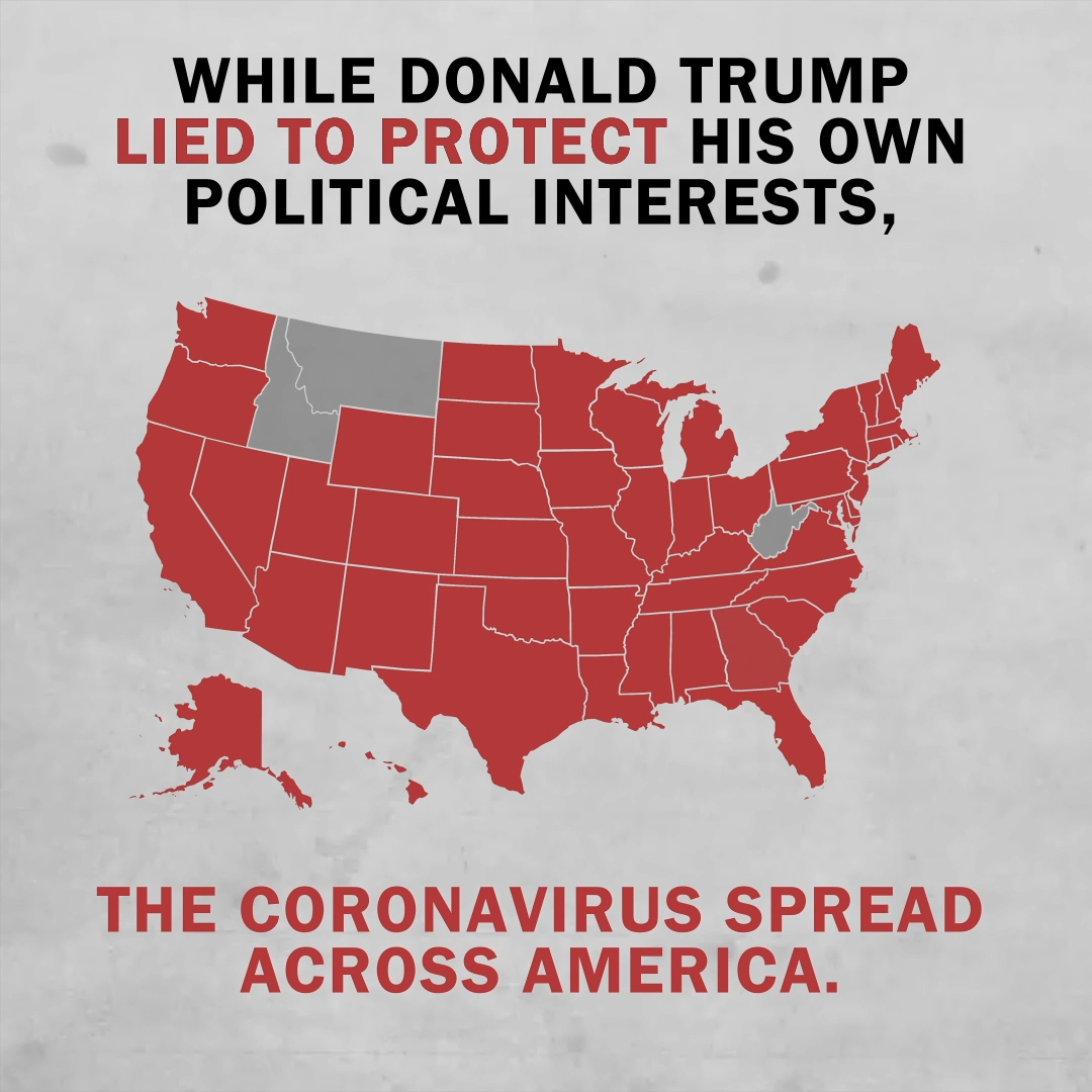 Is the coronavirus still a democract hoax? Trump would like for it to be. #TrumpLiesAboutCoronavirus