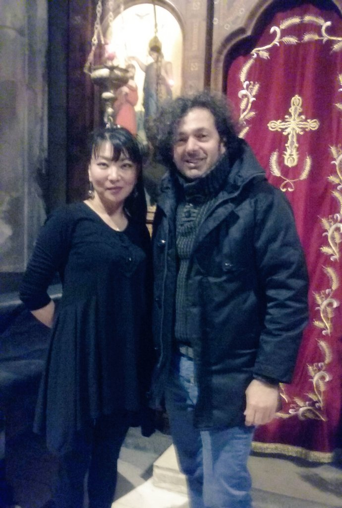 An amazing wonderful concert in sant Julien church with the creative pianist Miho Nitta #Miho_Nitta  #Saad_Lostan #Eglise_Sant_Julien  #CHOPIN  #GERSHWIN #Piano https://t.co/46n4noqx91