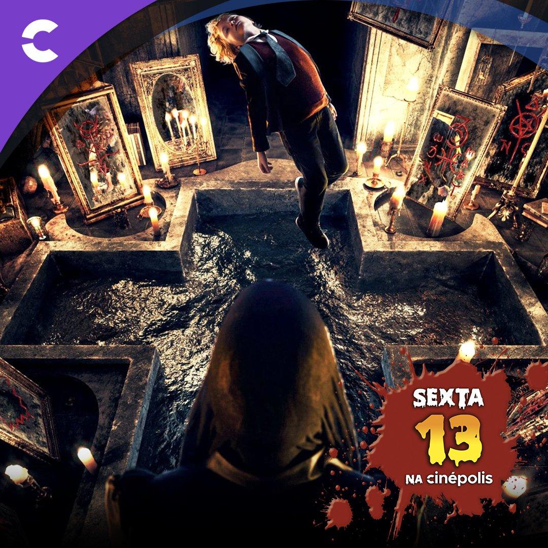 """Sexta 13 de arrepiar na Cinépolis com """"A Maldição do Espelho"""". Só te digo uma coisa: cuidado com o que deseja. #Sexta13 #AssistaNaCinepolis. https://t.co/LV6qUI8tzd"""