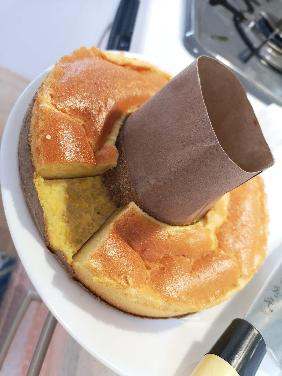 ケーキ ミックス ケーキ ホット シフォン