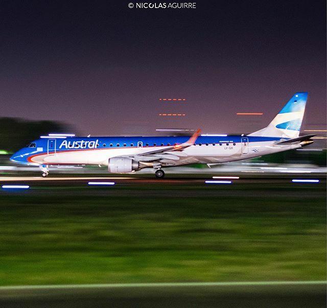 Embraer fast past  . . . . Follow!  @argspotters @andresaliotta @ramurias @ezecata_spotting . . . . #embraer #E190 #austral #argentina #aeroparque #aviation #airport #MEGAPLANE #airplane https://ift.tt/2WdAKeCpic.twitter.com/6QM7Dvqxv5