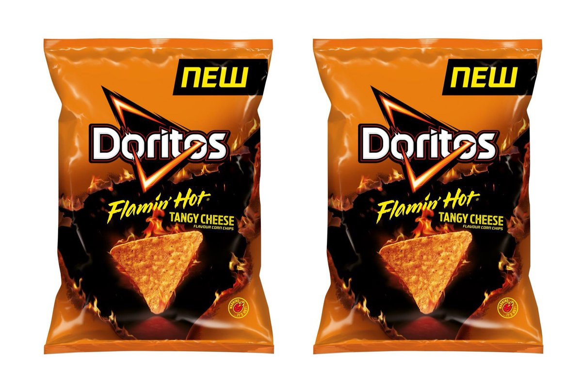 Guys I'm fully obsessed with these #FlaminHotDoritos they're so spicy but they're so good. pic.twitter.com/ERx7y032sP
