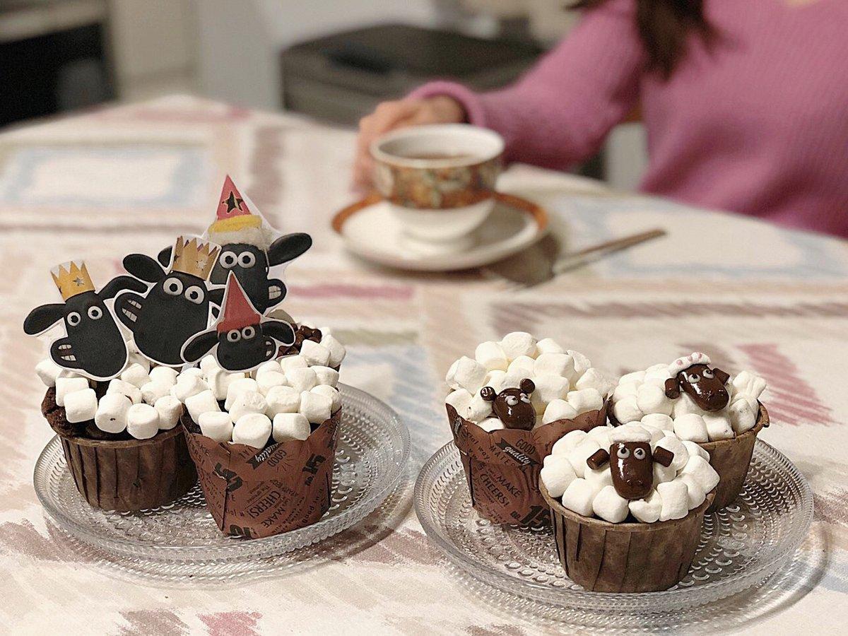 ショーン ケーキ の ひつじ カップ