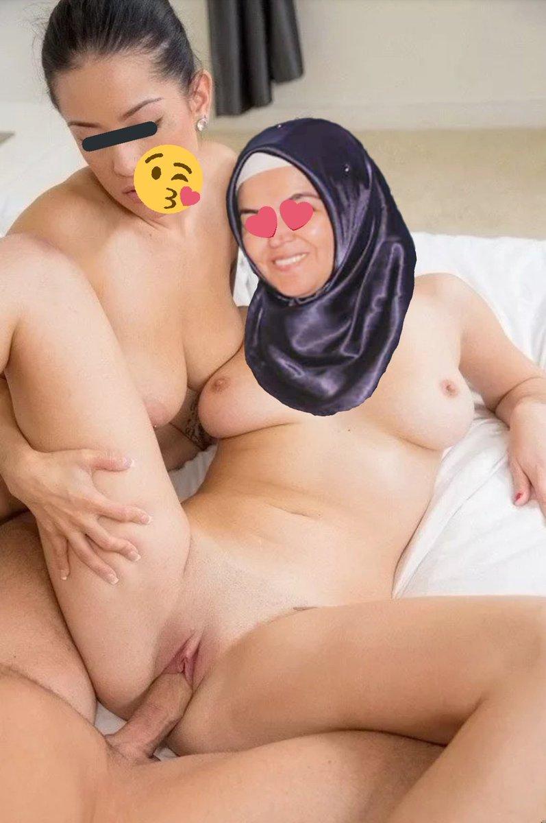 Arab saudi hijab lesbian