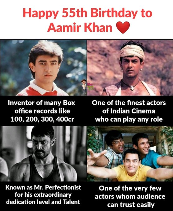 Favourite actor of all time Happy birthday sir