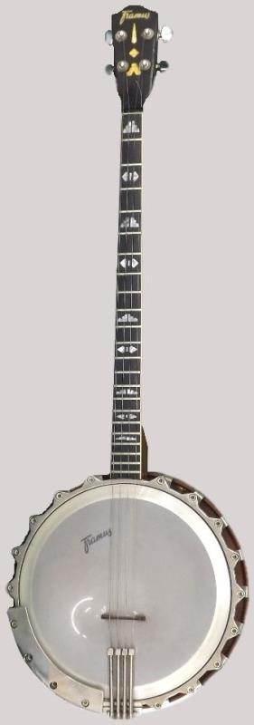 framus 6/174 100 plectrum tenor banjo