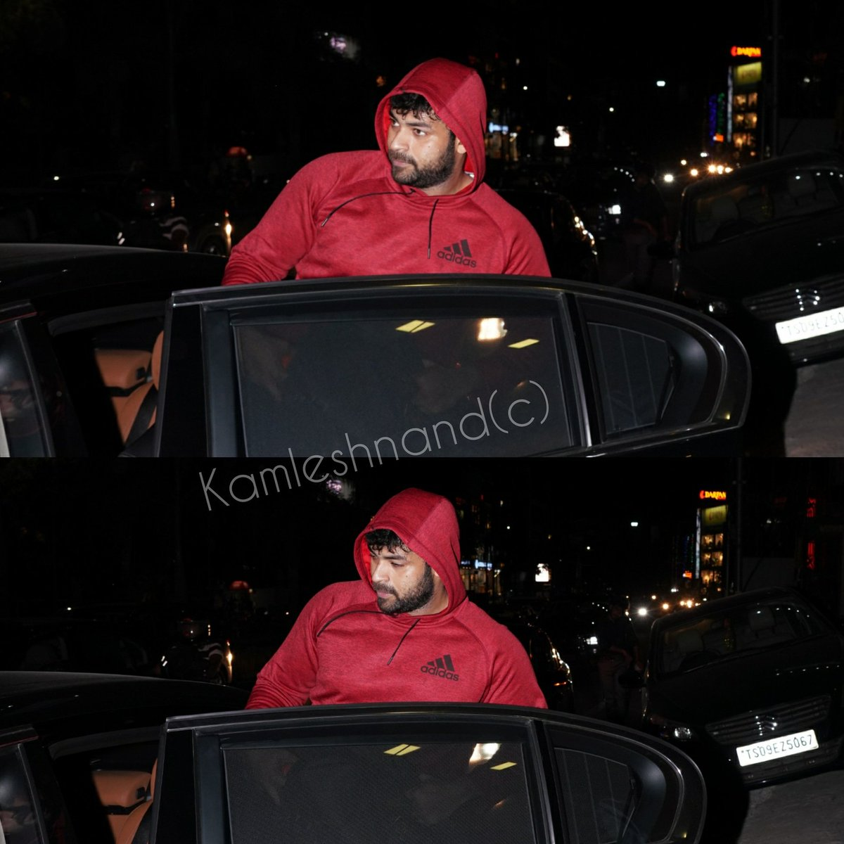 Hitting hard for #boxer #varuntej papped in the city post gym session @kamlesh_nand @IAmVarunTej #gymlife #southcelebs #tollywoodpic.twitter.com/zsYcYQ6Yfs