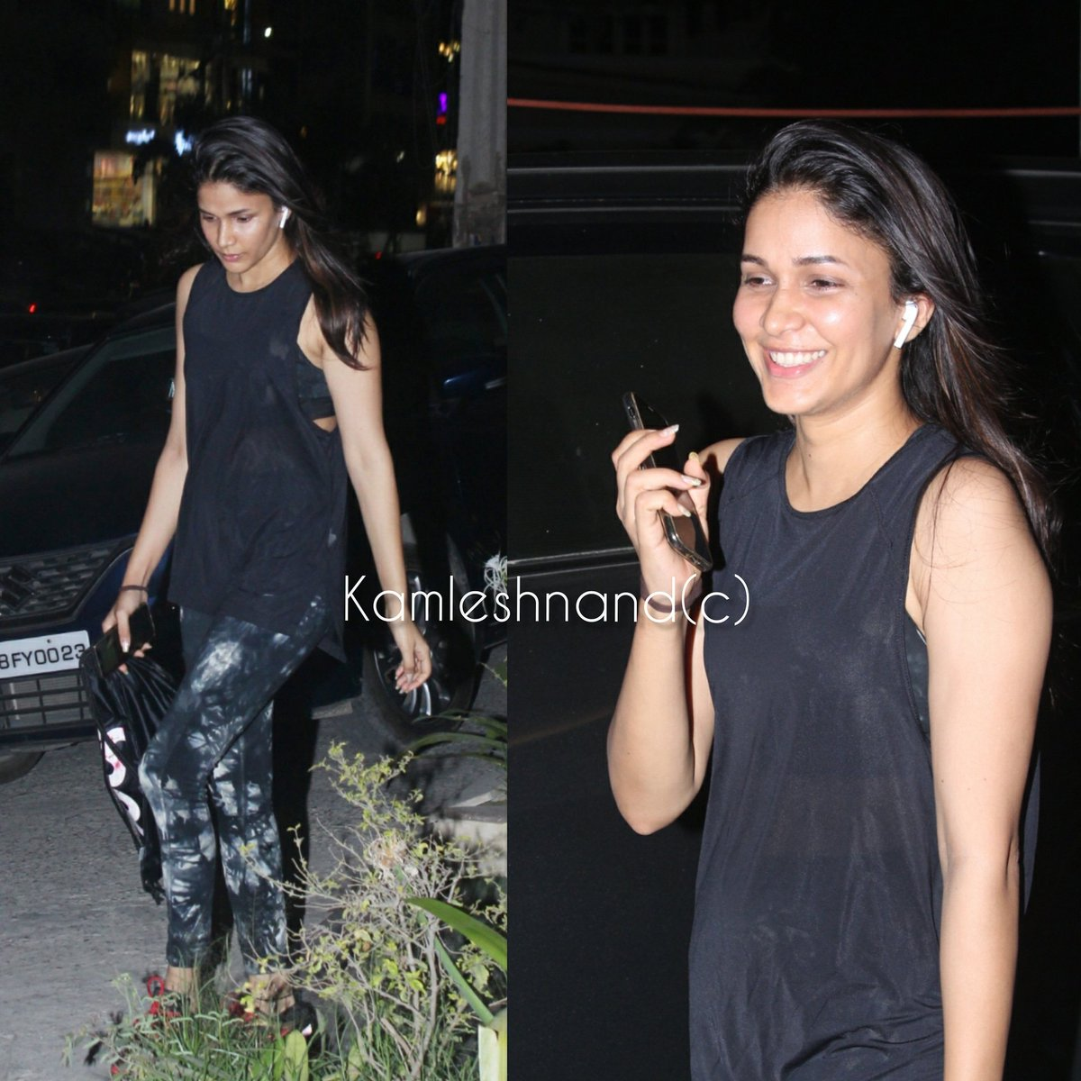 Is that fitness that keeps you smiling ? #LavanyaTripathi papped post gym session in city @kamlesh_nand @Itslavanya #Tollywood #southcelebs pic.twitter.com/Xz4xHDL4RP
