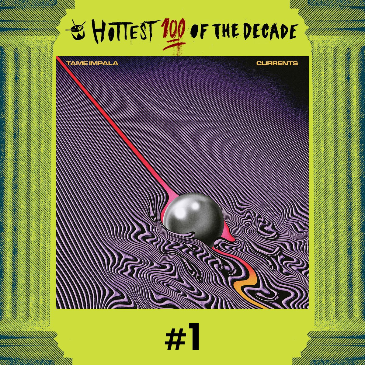#1 @tameimpala - 'The Less I Know The Better' #Hottest100
