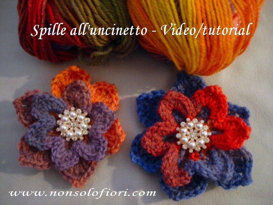 Fiori Alluncinetto.Maria Teresa Menna On Twitter Spilla Fiore All Uncinetto Video