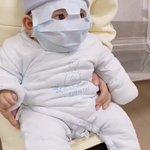 この手があったか!赤ちゃんに大人用のマスクを使用する方法が話題!
