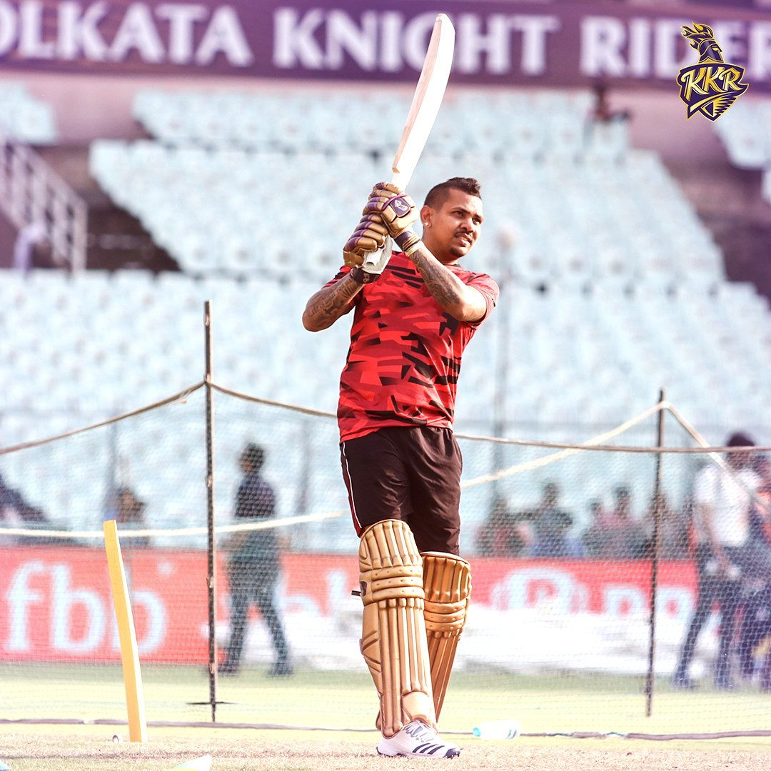 Picture perfect.  The Caribbean is in no mood to keep it low!  #KorboLorboJeetbo #KKR #cricket #SunilNarine <br>http://pic.twitter.com/0zAkt1AoRq