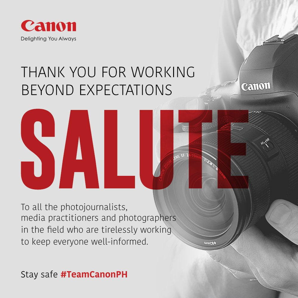 Thank you and always be safe, #TeamCanonPH! ❤️ https://t.co/TdX845cboC