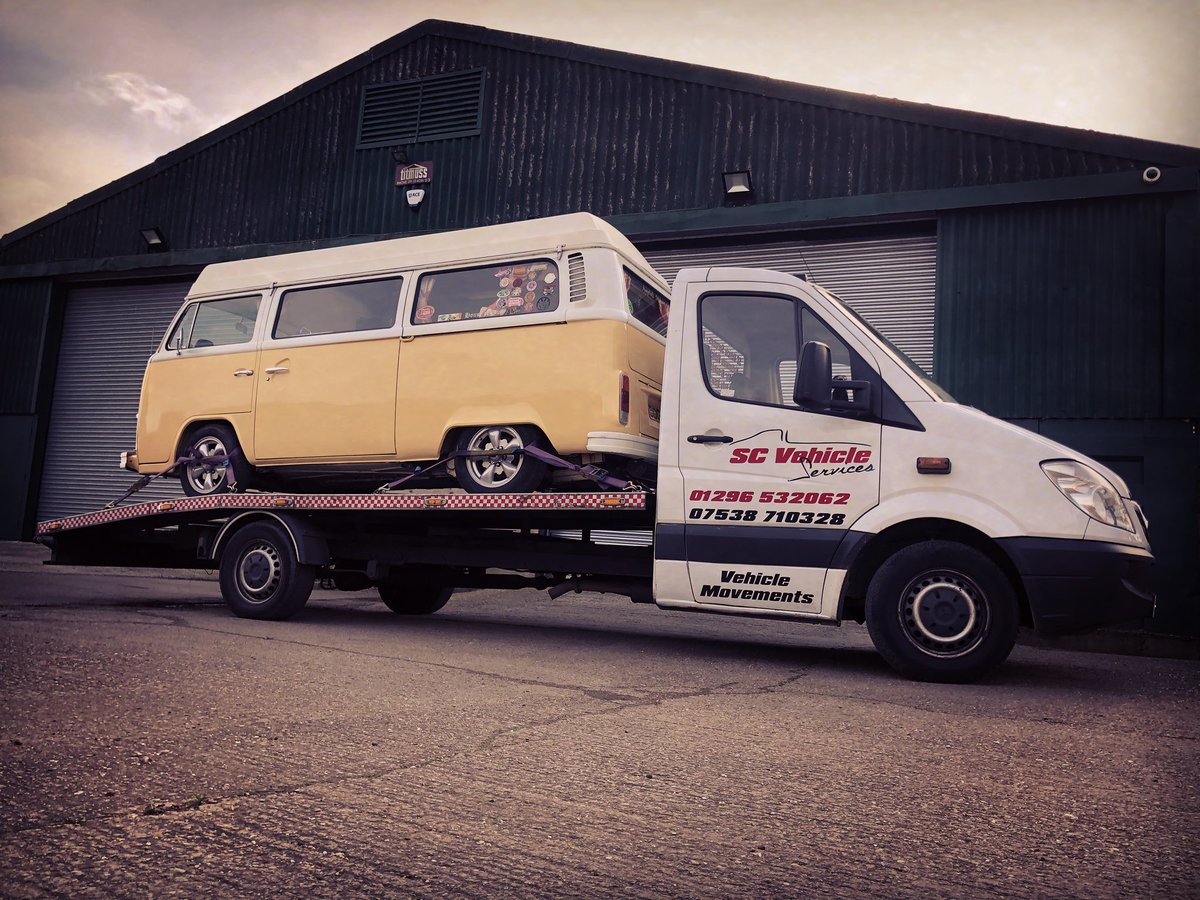 VW camper collected from its winter storage ready for its owner to enjoy in the summer months #vehicletransport #vehicledelivery #vehiclemovements #vehiclerecovery #aylesbury #buckinghamshire #localbusiness #scvehicleservices #vwcamper #aircooled #campervan #vwpic.twitter.com/br0H23Zjbg