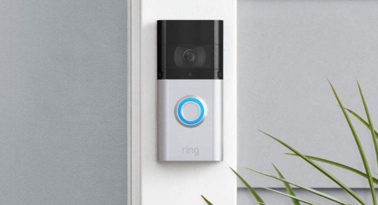 Ring securite sonnette portier video doorbell