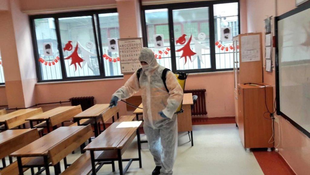 İl Millî Eğitim Müdürlüğümüze bağlı her okul ve kurumun haftada en az bir defa dezenfekte edilebilmesi için hassas bir çalışma yürütülüyor. @tcmeb @memleventyazici  📝 https://t.co/QCRxph2Bmg https://t.co/EmuD4zXXTV
