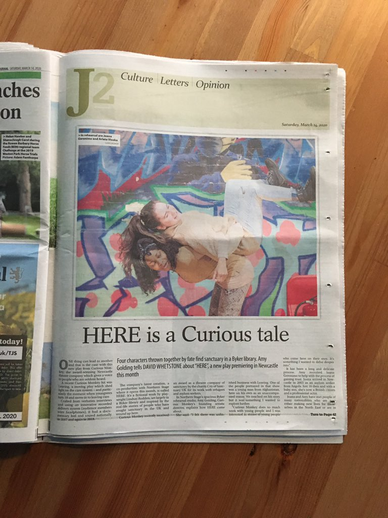 Great spread in today's @TheJournalNews thanks @DavidJWhetstone pick up a copy today!