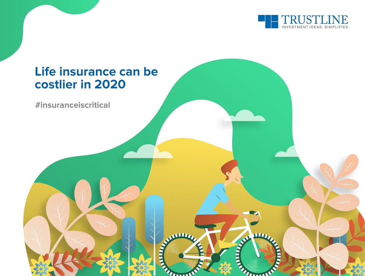 Term Insurance rates rely on mortality assumption, which is 1/3rd of the mortality rate of the average Indian population. The Reinsurers are revising it, which has a direct impact on us.   So, if you plan to insure, be quick. #insuranceiscritical https://www.trustline.in/insurance