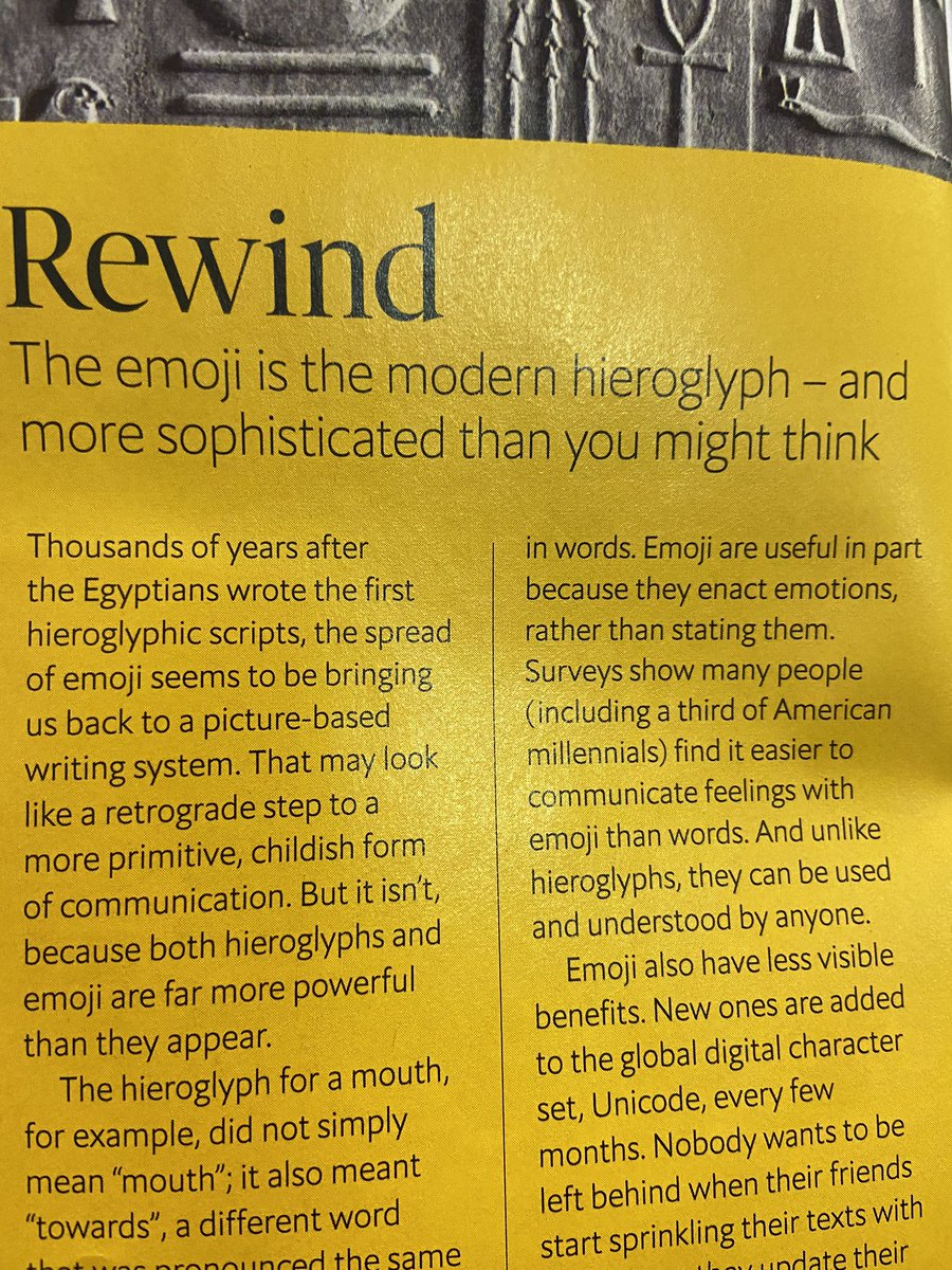 Shout out to @TheEconomist for bringing attention to the emoji meaning so much more than it's translation. Am I right, or am I 👌@benjackthomas @MatthewGerrard https://t.co/IPNuK13TtG