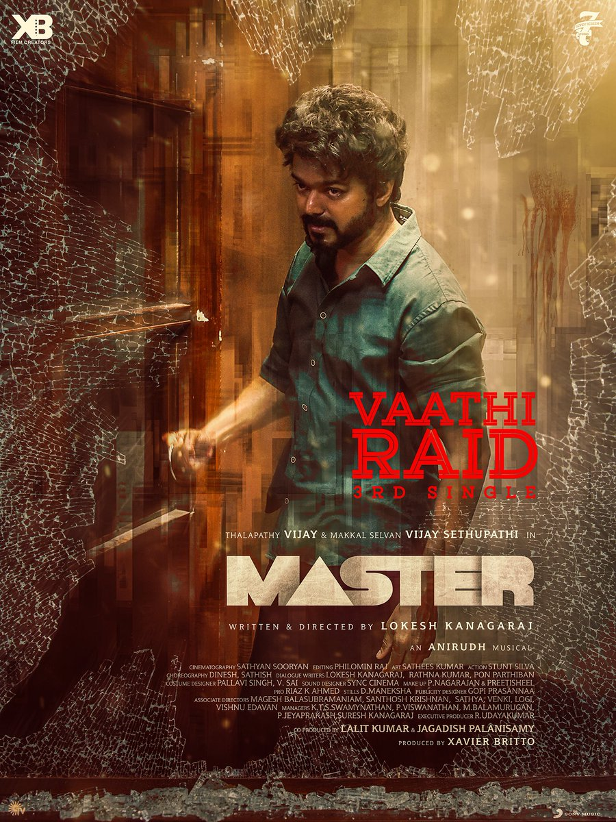 #VaathiRaid  #Master  coming your way!  😉 https://t.co/WLUjlNksAP