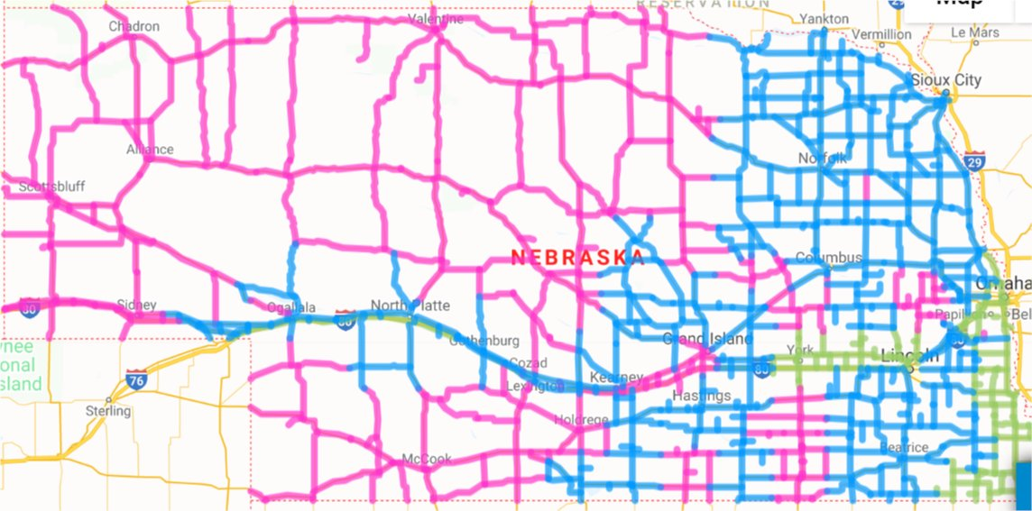 511 nebraska road conditions map Nebraska Dot On Twitter Weather Is Clearing Roads Are Open 511 nebraska road conditions map