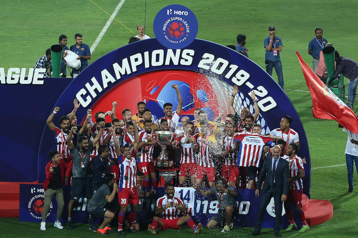 Congratulations @ATKFC for winning your 3⃣rd #HeroISLFinal today. @ChennaiyinFC, dont lose heart, you were marvellous throughout the season. Congratulations to everyone for putting up a great @IndSuperLeague season overall. #HeroISL