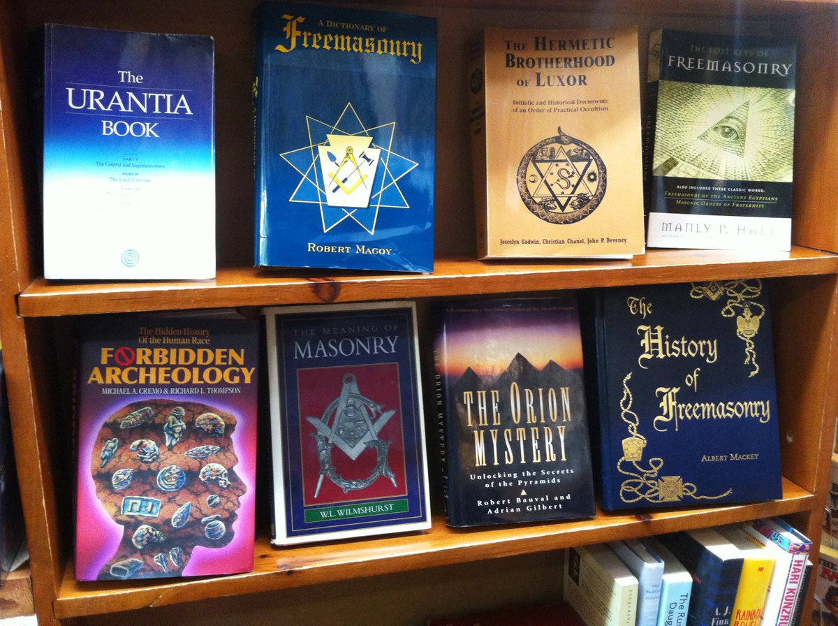City Light Bright Book Shop On Twitter We Ve Finally Got More Manly P Hall In Just Shelved His Secret Teachings Of All Ages And Lost Keys Of Freemasonry In Addition To Loads