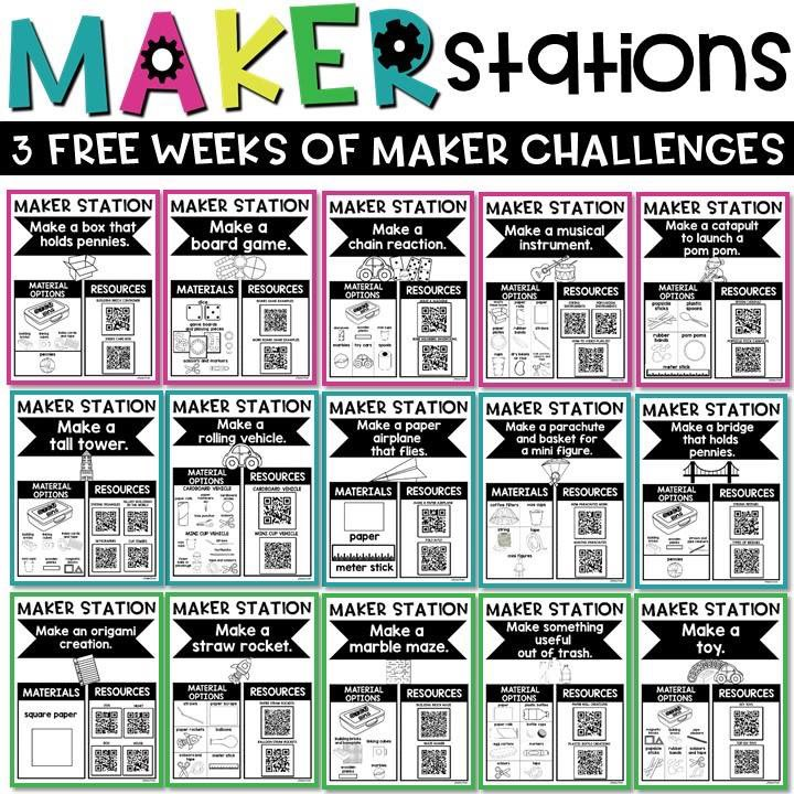 3 FREE WEEKS OF MAKER STATIONS! 💡💡💡 bit.ly/freemakerstati…