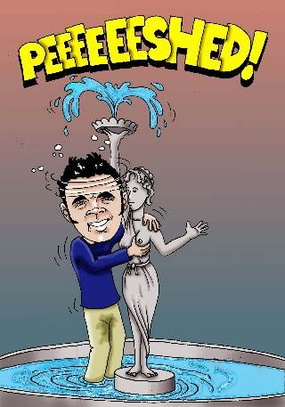 Happy Birthday to Mark Fish.  Stay out of the fountains!!!