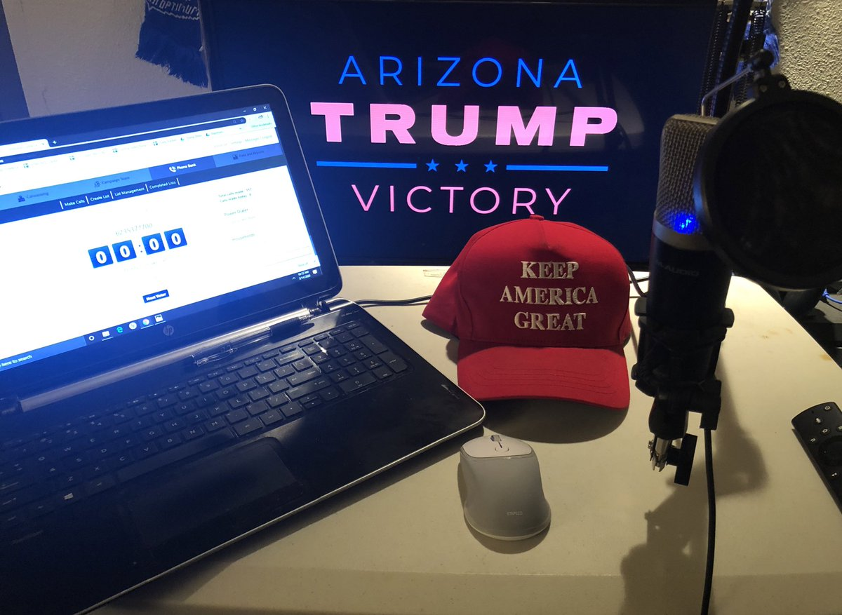 Lines are live in AZ! Time to make some calls #LeadRight