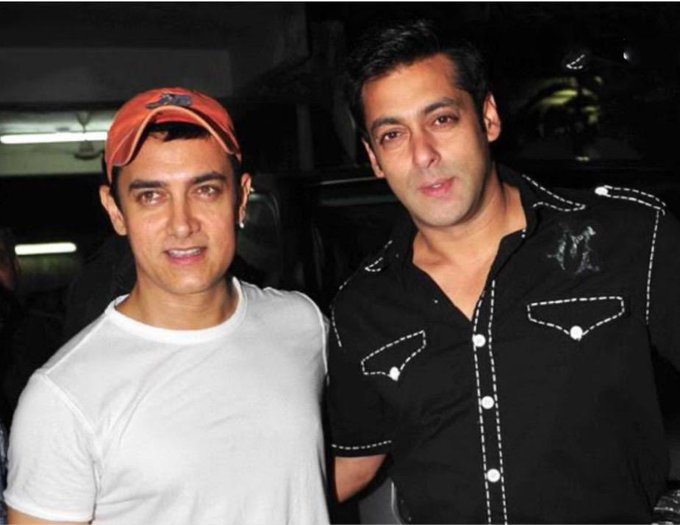 Salman Khan ( messageed: Happy birthday Laal Singh Chaddha (