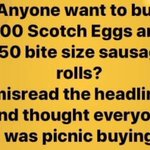 Image for the Tweet beginning: #picnic #panic #eggs