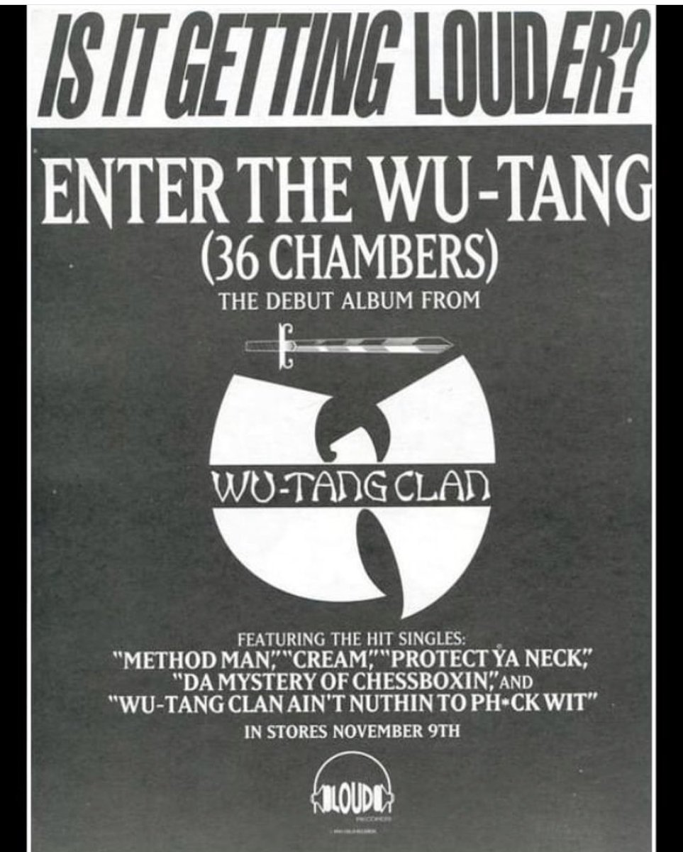 Wu Tang Clan On Twitter We Bought A New Addictive Flavor To Hip Hop Wutang