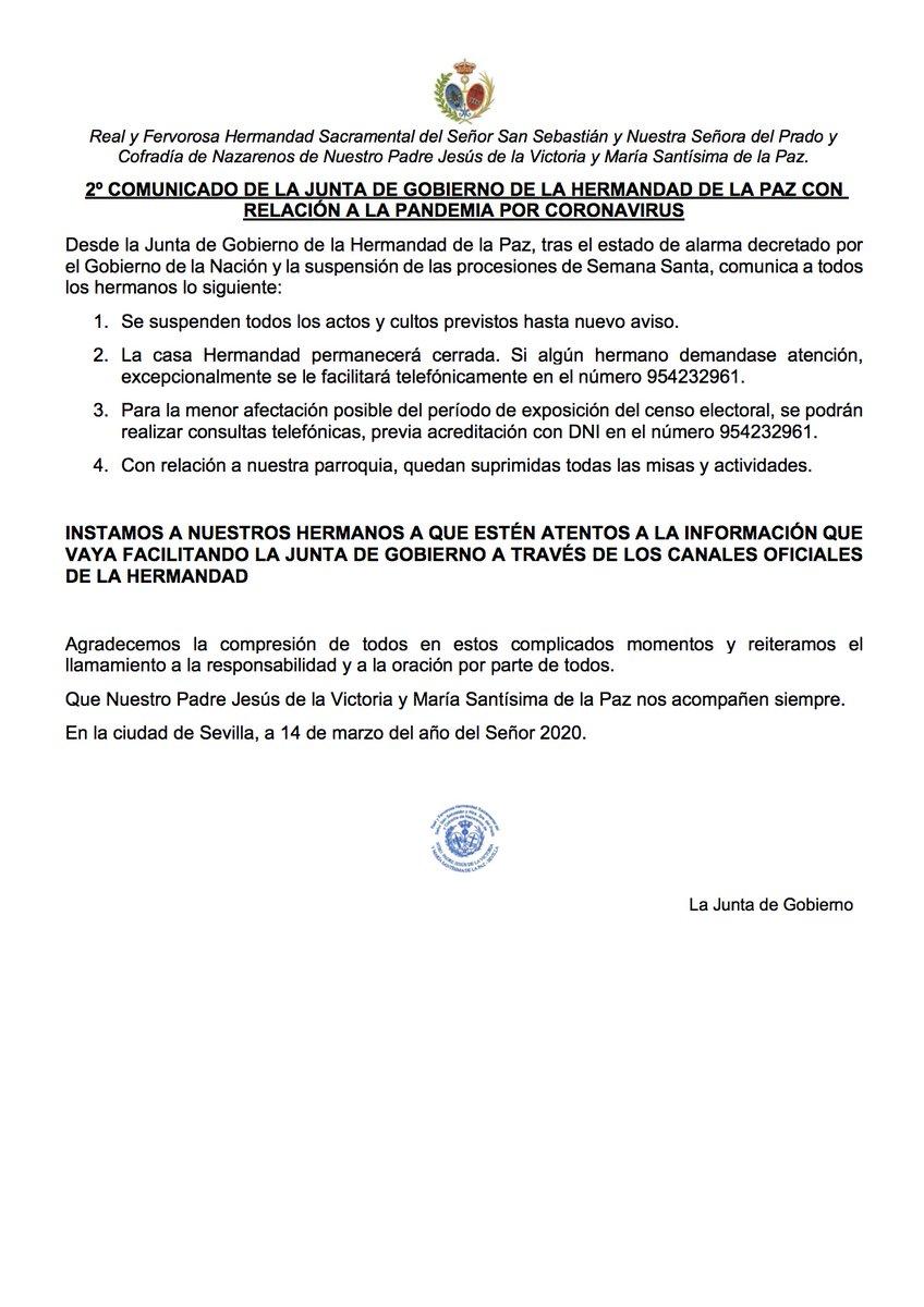 🔊IMPORTANTE  Comunicado y Carta de la Junta de Gobierno. https://t.co/dVPdGXtBgV