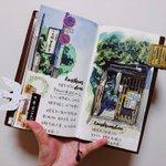 【出版希望】とある中国人が描いたという、京都絵日記がすごい!