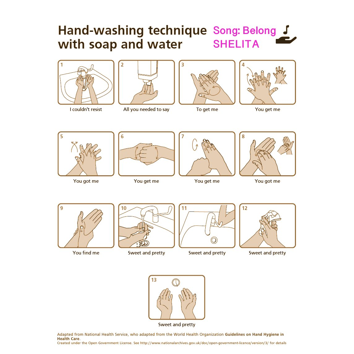 You can now wash your hands to my Belong song ❤️💖 Thank you @WashYourLyrics https://t.co/soTlYJjgT3