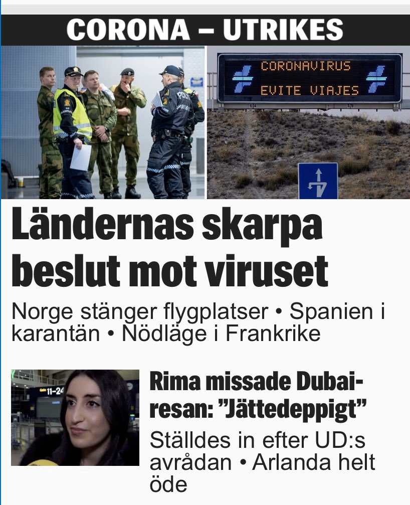 Knockout On Twitter Stackars Rima Richtears Coronavirussverige