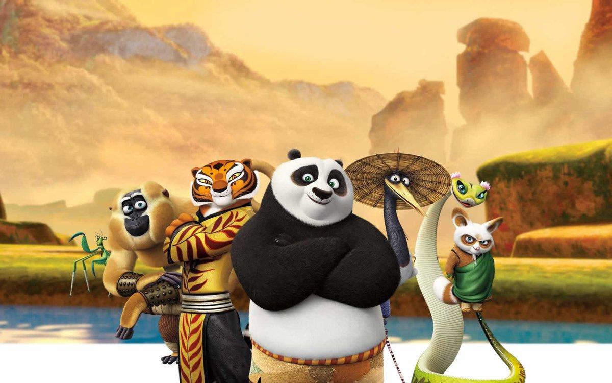 картинки фон с кунг-фу панда инструменты