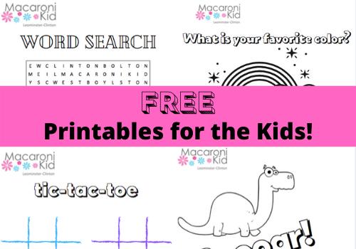 FREE Printables for the Kids!  https://leominster.macaronikid.com/articles/5e6c261c1a3d607e0a5ccde6/free-printables-for-the-kids… #preschool #momhack #kidsactivities #FreebieFridaypic.twitter.com/KnznND57xU