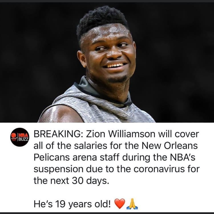 #athletes #respect @zionwilliamson @dukembb @pelicansnba #nba #sports #basketball #corinavirus @smoothiekingcenter https://fitboxdedham.com/boxing-gym/athletes-respect-zionwilliamson-dukembb-pelicansnba-nba-sports-basketball-corinavirus-smoothiekingcenter/?utm_source=dlvr.it&utm_medium=twitter …pic.twitter.com/Czc6Zzese7