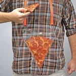 ピザ好きにはたまらない!いつでも持ち運べるピザポケットが今後売れそう