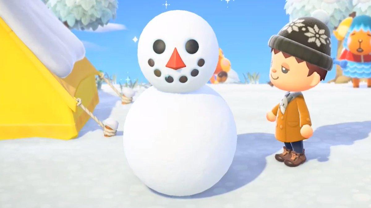 どうぶつ 森 あつまれ 雪だるま の 【あつ森】雪だるまの作り方とレシピ一覧