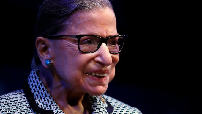 A very happy and healthy 87th birthday to Justice Ruth Bader Ginsburg