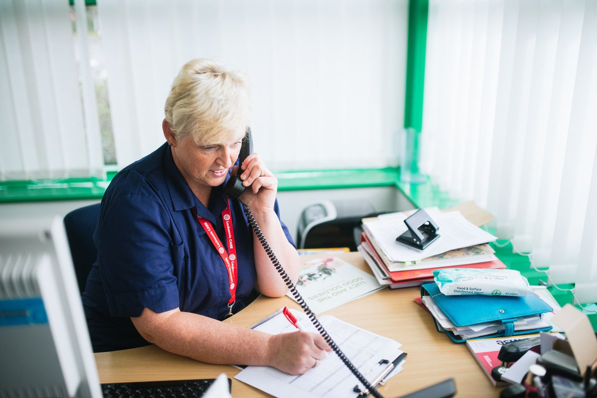 A nurse will be back on our helpline tomorrow morning at 9am. Call her for free on 08088 010 444